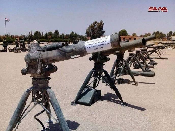 В руки САА перешли пусковые установки американских ПТРК TOW на юге Сирии