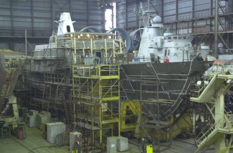 Финансы не позволяют: создание российских перспективных кораблей будет отложено