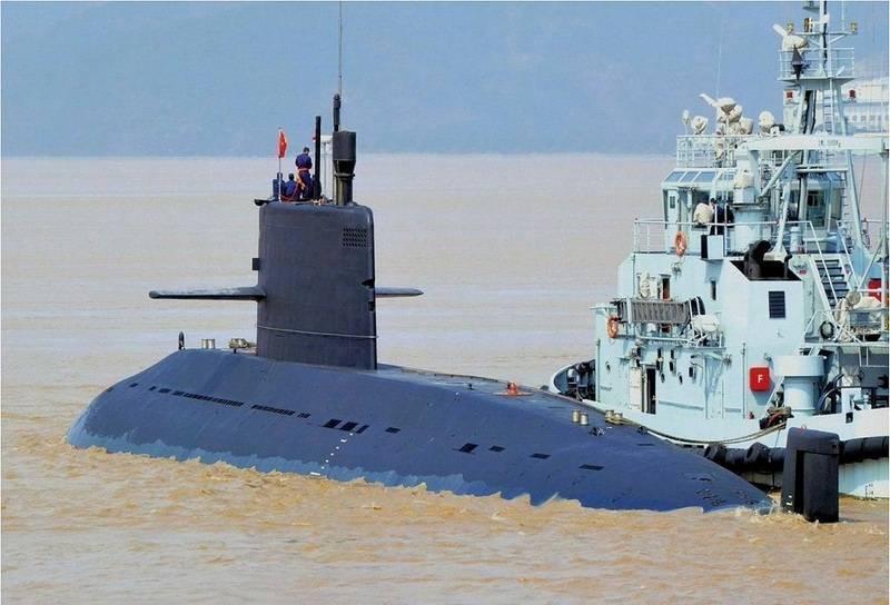 Китай провел испытания новой подводной лодки проекта Type 039A