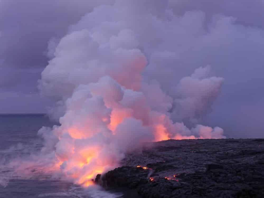 Территория США увеличилась на 555 акров. Спасибо, вулкан Kилaуэa!