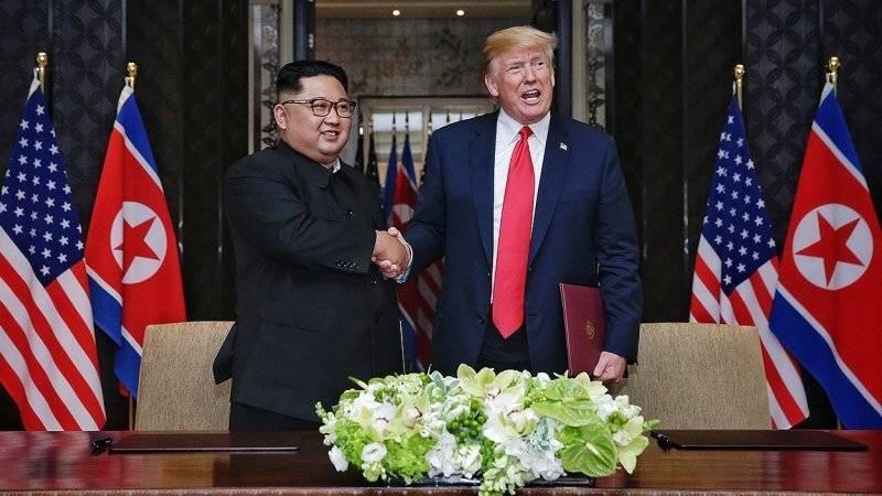 Трамп уверен, что Ким Чен Ын будет соблюдать достигнутые в Сингапуре договоренности