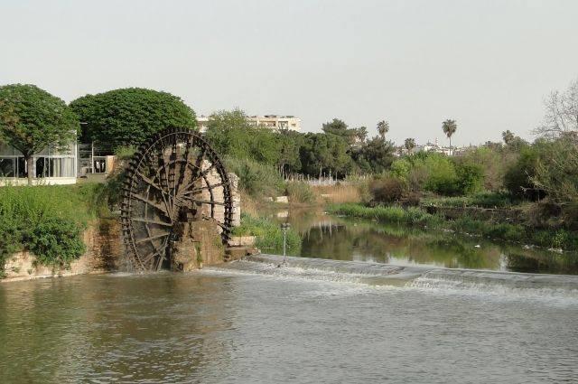 В Сирии хотят восстановить древние водяные колеса на реке Оронт: фото и иллюстрации