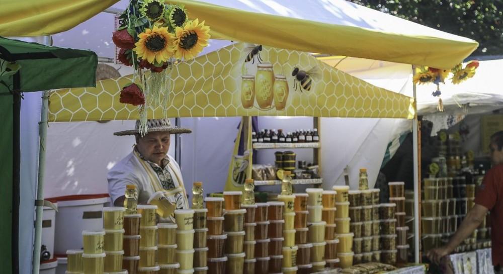 В Киево-Печерской лавре открылась выставка «Медовый спас»