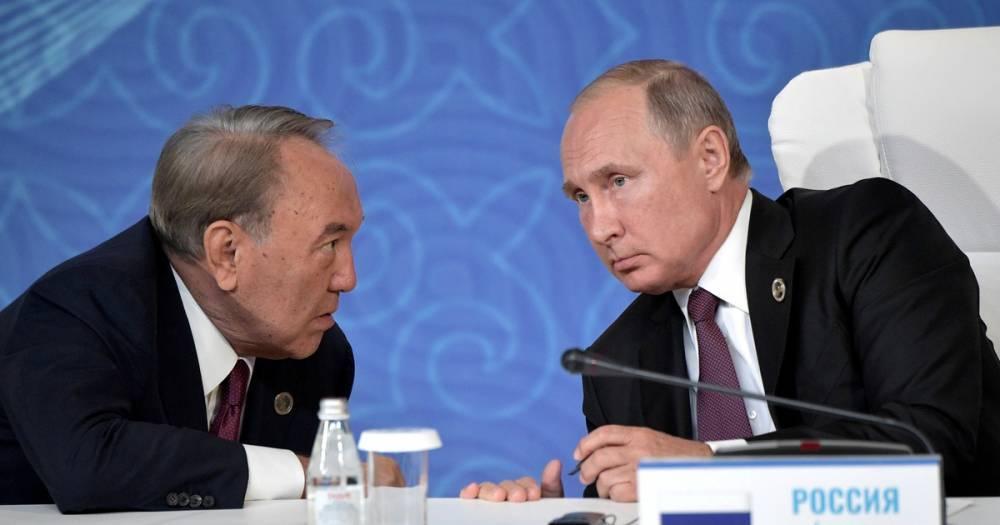 """Путин и Назарбаев обсудили """"проблемный"""" вопрос генсека ОДКБ"""