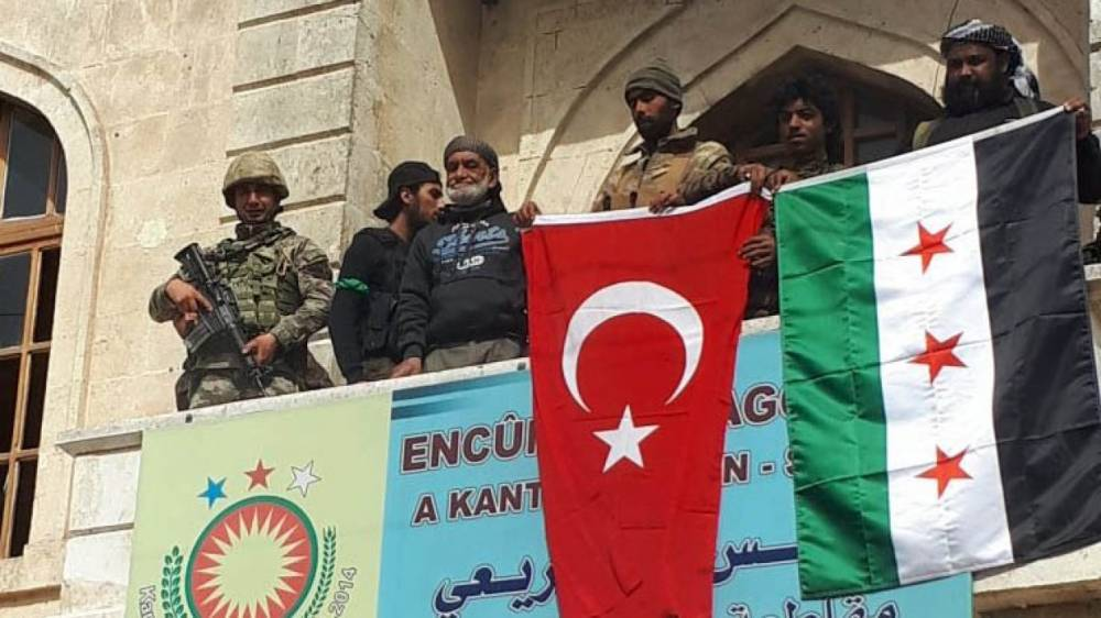 Сирия новости 12 августа 22.30: турки и ССА уничтожили кладбище в Африне, САА зачистит район Аль-Латамины