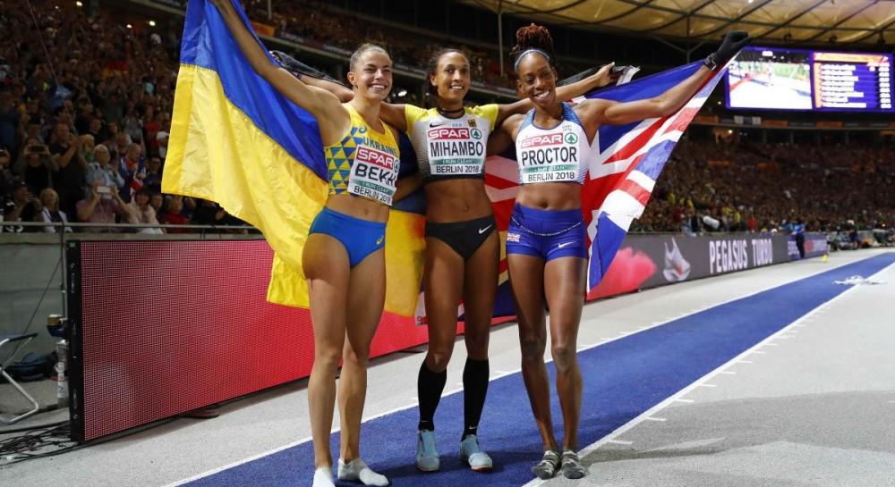 Украина заняла 8-е место в медальном зачете чемпионата Европы по летним видам спорта