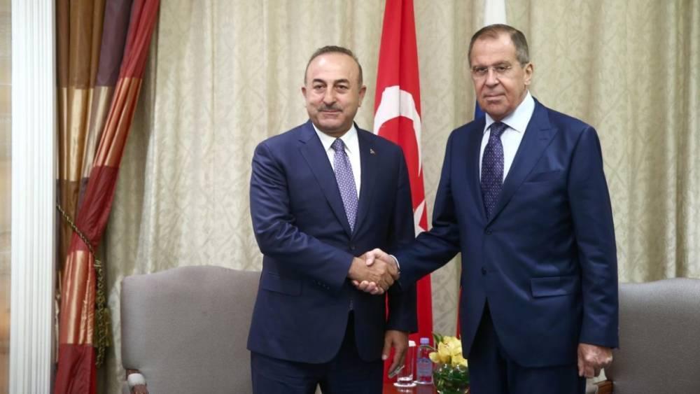 Лавров встретится с главой МИД Турции в Анкаре