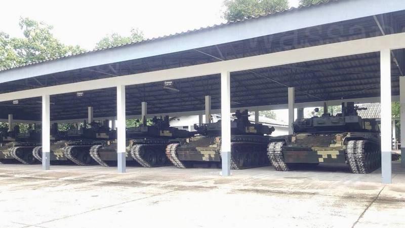 """Сорок девять танков за семь лет. Украина завершила поставку Таиланду БМ """"Оплот-Т"""""""