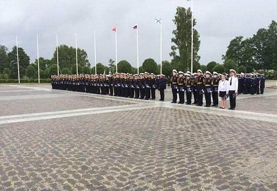 Новшества в парадной форме для военных моряков России