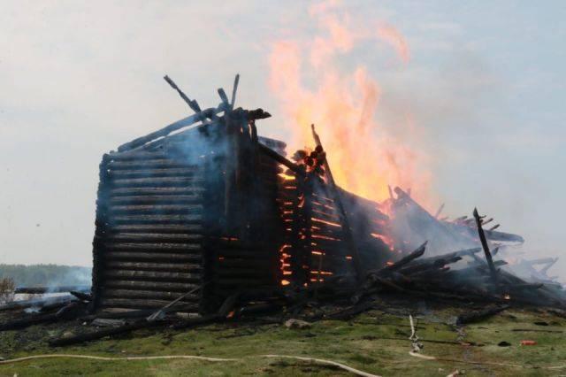 В поджоге церкви в Карелии подозревают 15-летнего школьника