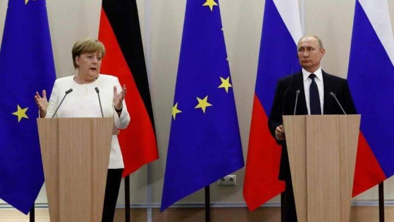 Путин и Меркель встречаются в эту субботу