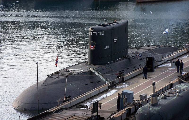 """С Черноморского флота на Балтийский. """"Алроса"""" идет служить на Балтику"""