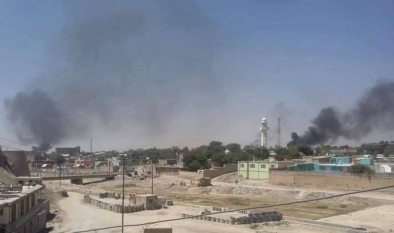 Пять дней боев. Правительственные силы вытеснили талибов из Газни