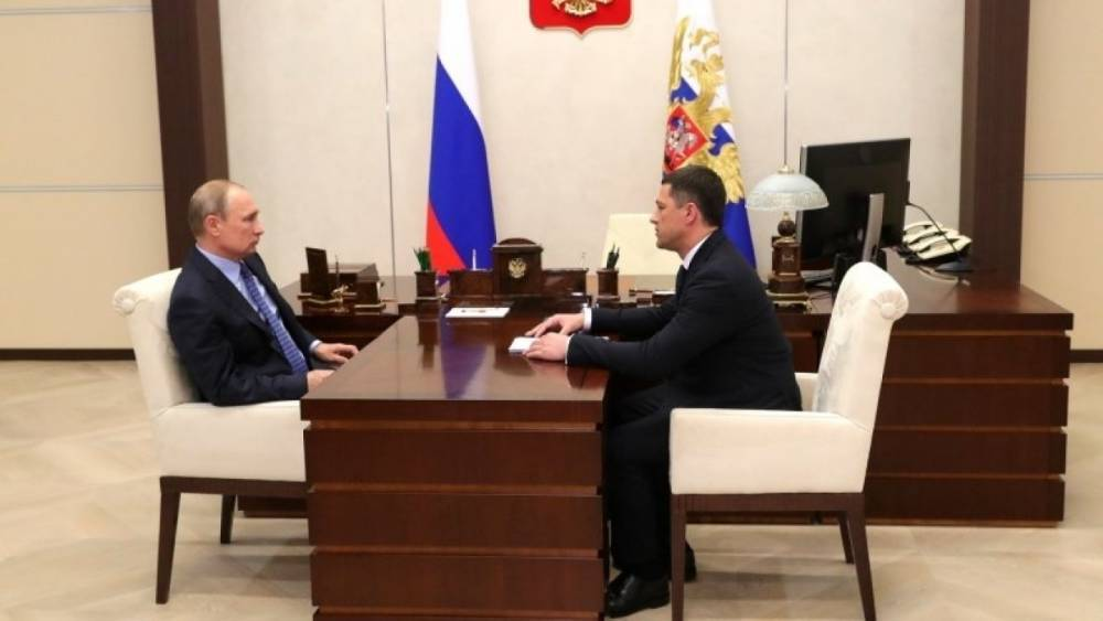 Путин поручил обеспечить рост доходов жителей Псковской области