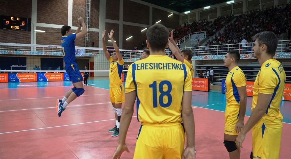 Мужская сборная Украины по волейболу успешно стартовала в квалификации Евро-2019