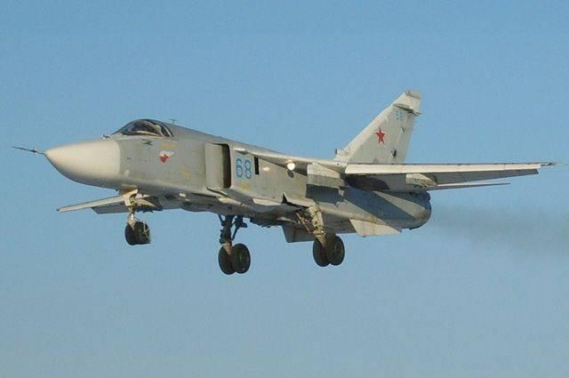 В Минобороны РФ опровергли сообщение о перехвате Су-24 над Черным морем
