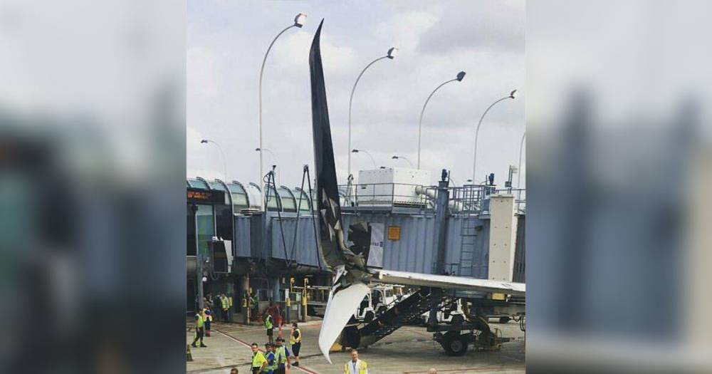 В аэропорту Чикаго столкнулись два самолёта