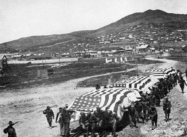 Зверства американских оккупантов в России в 1918 году. Посольство РФ напомнило США