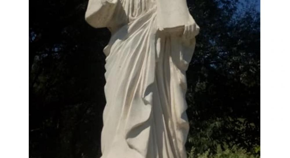 На Франковщине вандалы повредили статую Христа
