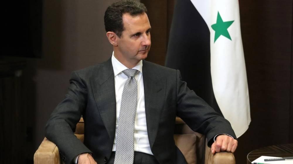 Сирия: Асад с супругой посетили «тоннель смерти» под Дамаском