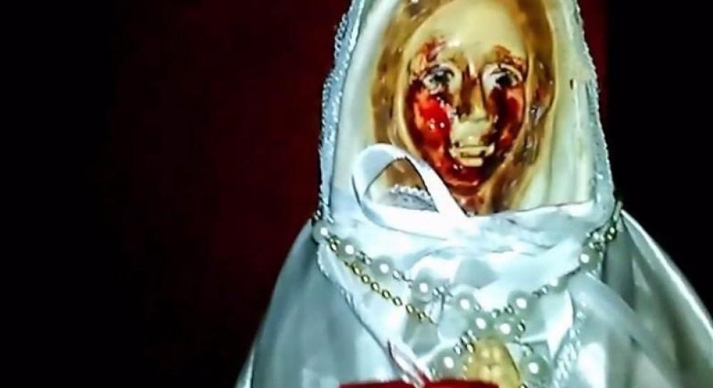 В Аргентине статуя Девы Марии «заплакала» кровавыми слезами