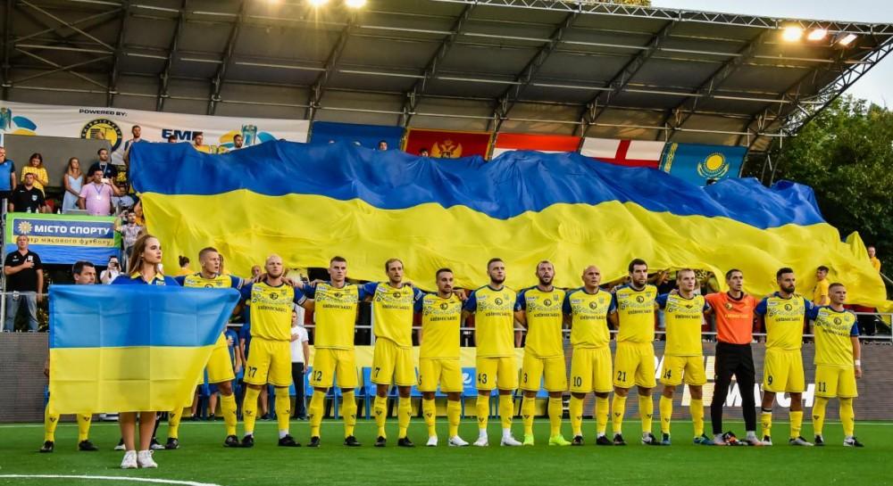 Сборная Украины по мини-футболу разгромила Черногорию на домашнем Евро и вышла в 1/4 финала