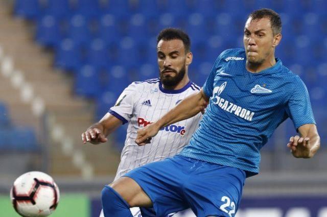 «Зенит» разгромил минское «Динамо» и вышел в раунд плей-офф квалификации ЛЕ