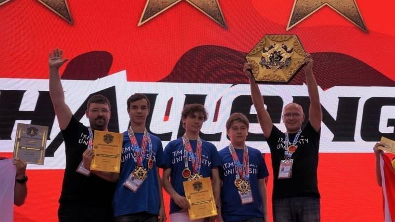 """Российские школьники завоевали """"золото"""" робототехнического турнира в Китае"""