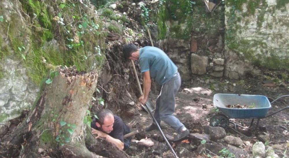 В средневековом грузинском монастыре нашли уникальный трапезный зал