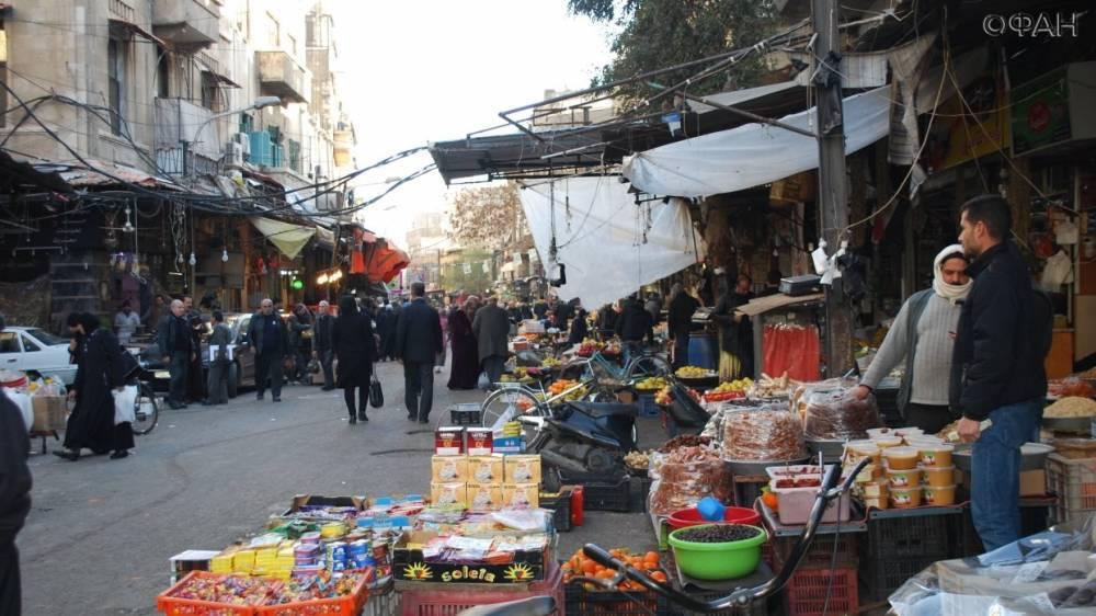 Сирия: жители Дамаска рассказали ФАН о возвращении рынков
