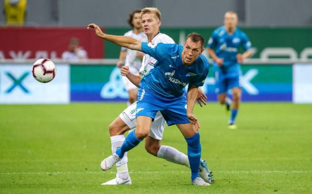 Футболист «Зенита» Мак назвал Дзюбу героем России и Петербурга