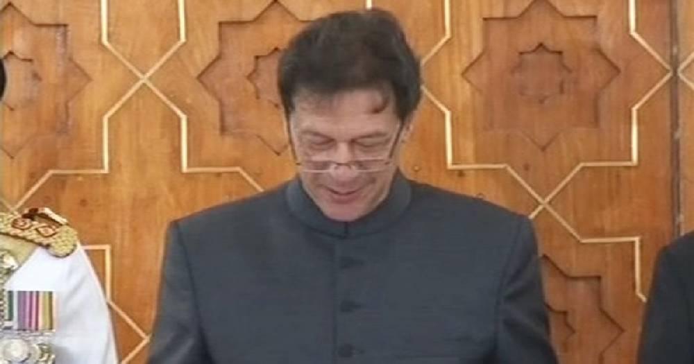 Имран Хан принёс присягу в качестве нового премьера Пакистана