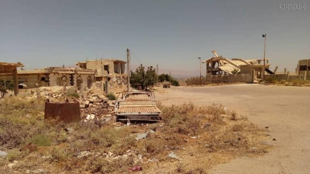 Сирия: САА входит в освобожденные районы провинции Эль-Кунейтра — видео ФАН