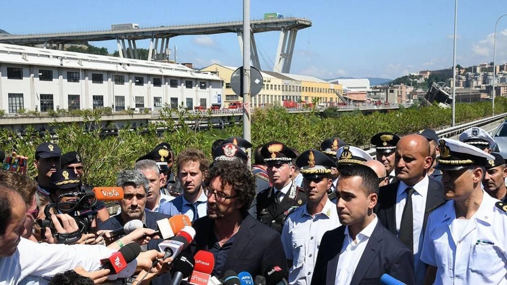 В Италии растет число жертв обрушения моста близ Генуи