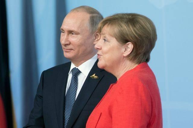 Путин прибыл в Берлин на встречу с Меркель