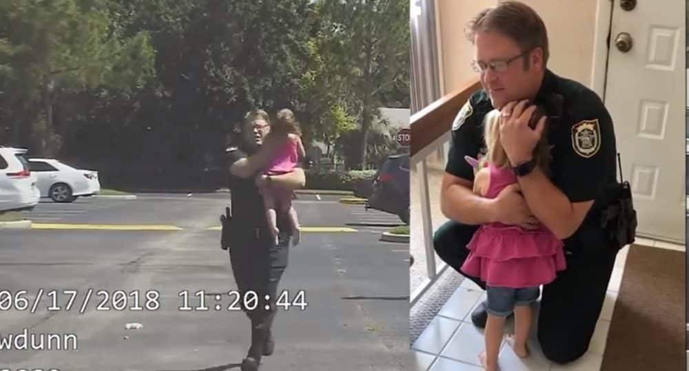 Помощник шерифа спас 3-летнего ребенка из раскаленной машины