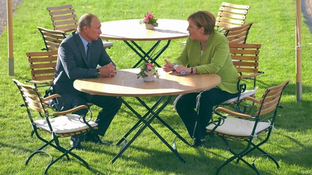 Путин и Меркель отметили растущую динамику взаимного торгового оборота— Песков