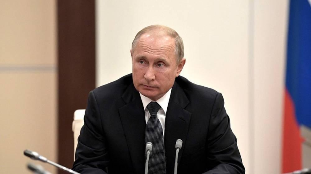 Путин призвал помогать Сирии, чтобы беженцы могли вернуться в свои дома