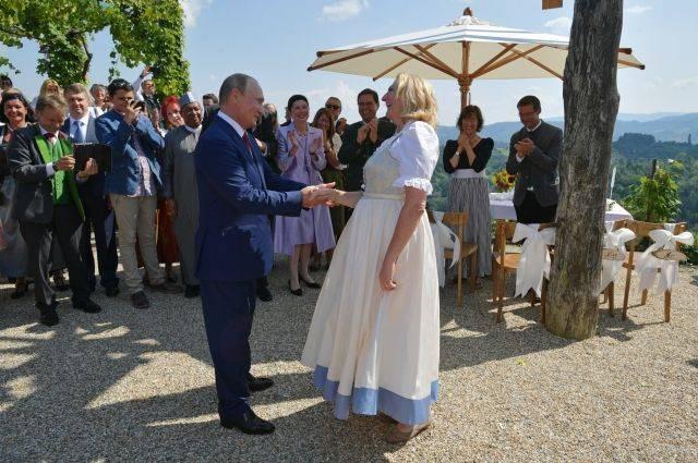 Опубликовано видео выступления казачьего хора на свадьбе главы МИД Австрии