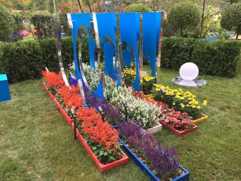 Выставочные сады начали монтировать к фестивалю «Цветочный джем» в Москве