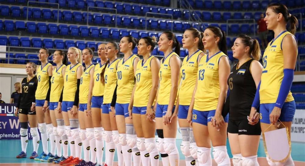 Женская сборная Украины по волейболу обыграла Черногорию в отборе к Евро-2019