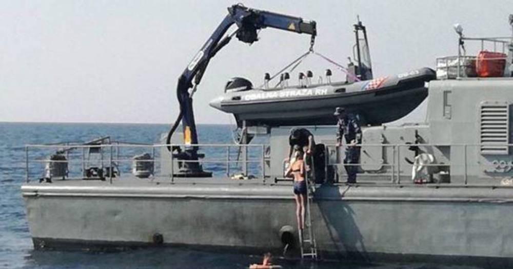 Британка плавала в открытом море 10 часов после падения с круизного лайнера