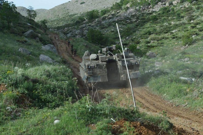 Минобороны Израиля показало новую бронемашину Nemera