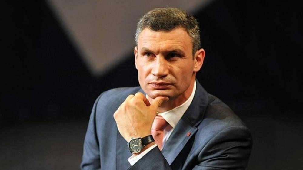 Мэр Кличко оправдался за масштабное подтопление Киева