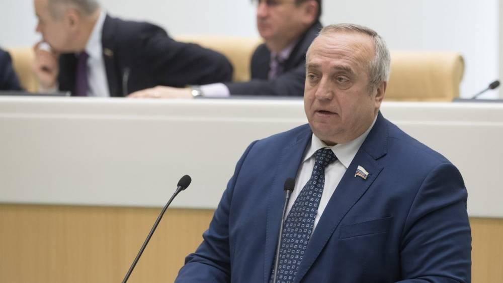 «Придется отобрать спички»: Клинцевич назвал задержание российских судов на Украине игрой с огнем