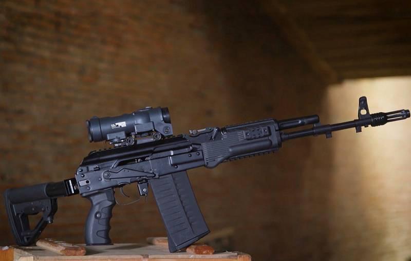 """Под """"натовский"""" 7,62Х51 мм. Калашников представил новый АК-308"""