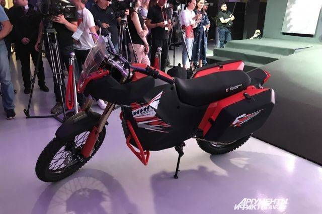 Концерн «Калашников» представил новый электромотоцикл