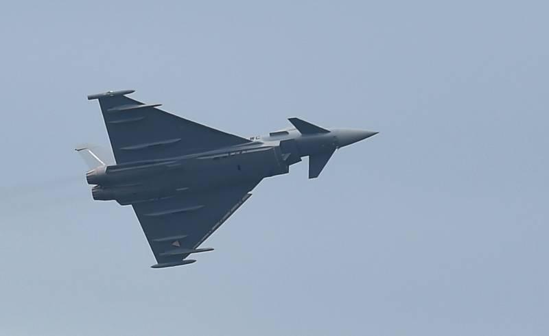 Британские истребители «предотвратили» вторжение российских самолетов в Румынию