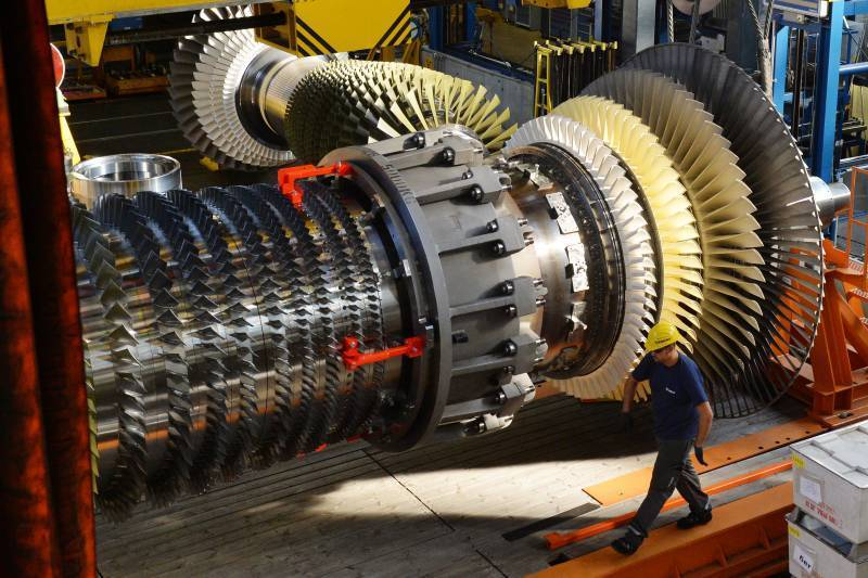 На замену Siemens: В РФ разработают свои газовые турбины