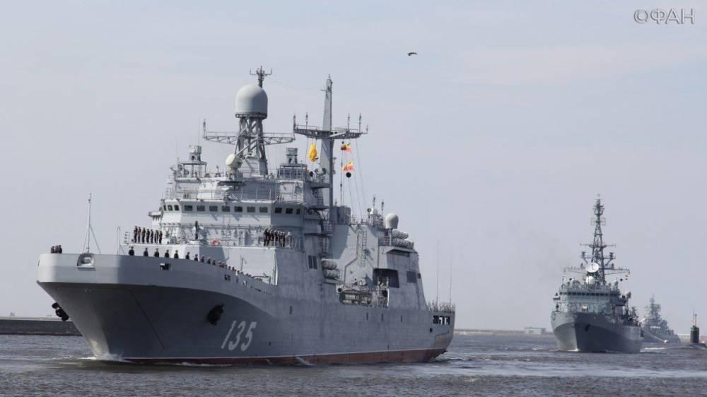 Опасными для судоходства объявили районы учений ВМФ и ВКС РФ в Средиземноморье